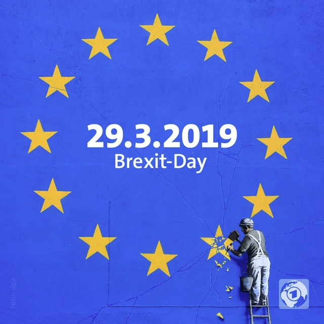 Banksy on Brexit Day