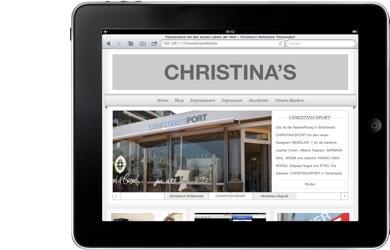 www.christinas.de
