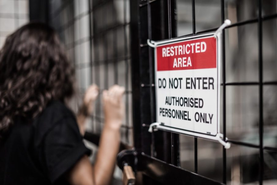 Restricted Area Do Not Enter sign. Photo by Kelli McClintock on Unsplash