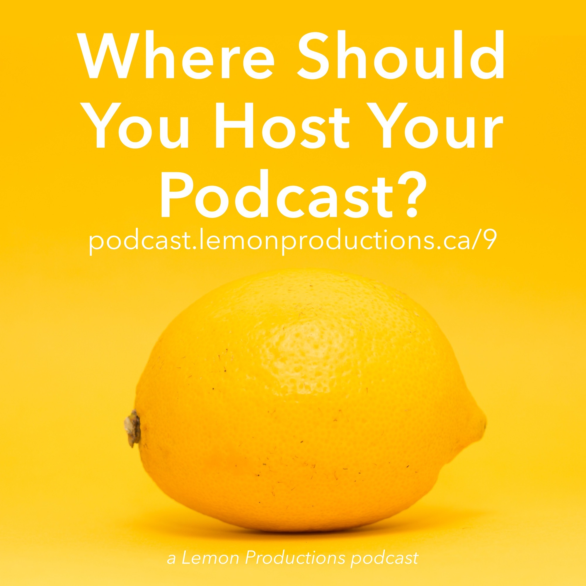 Where Should You Host Your Podcast artwork