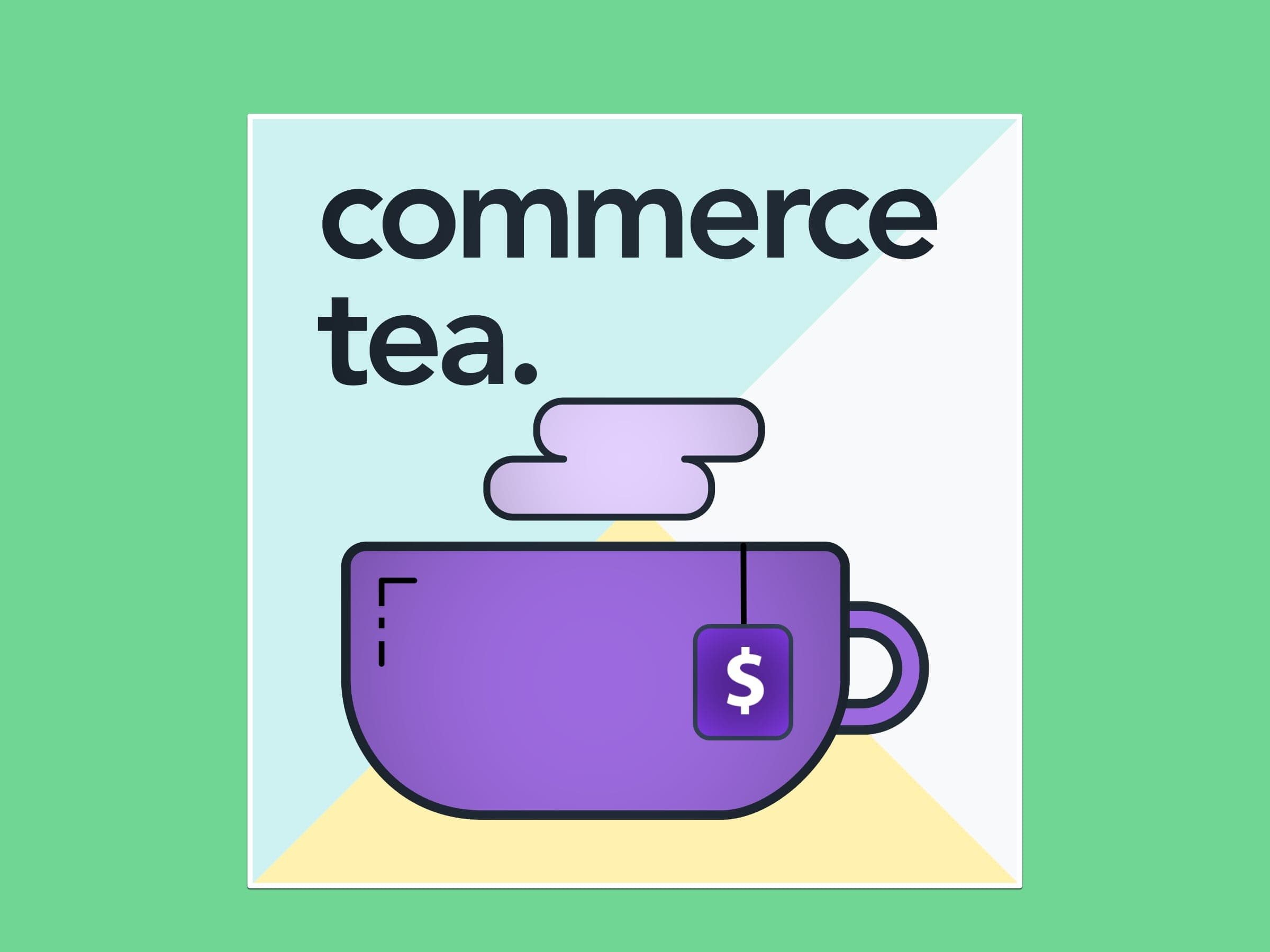 Commerce Tea podcast logo