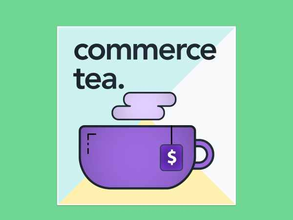 Commerce Tea podcast logo
