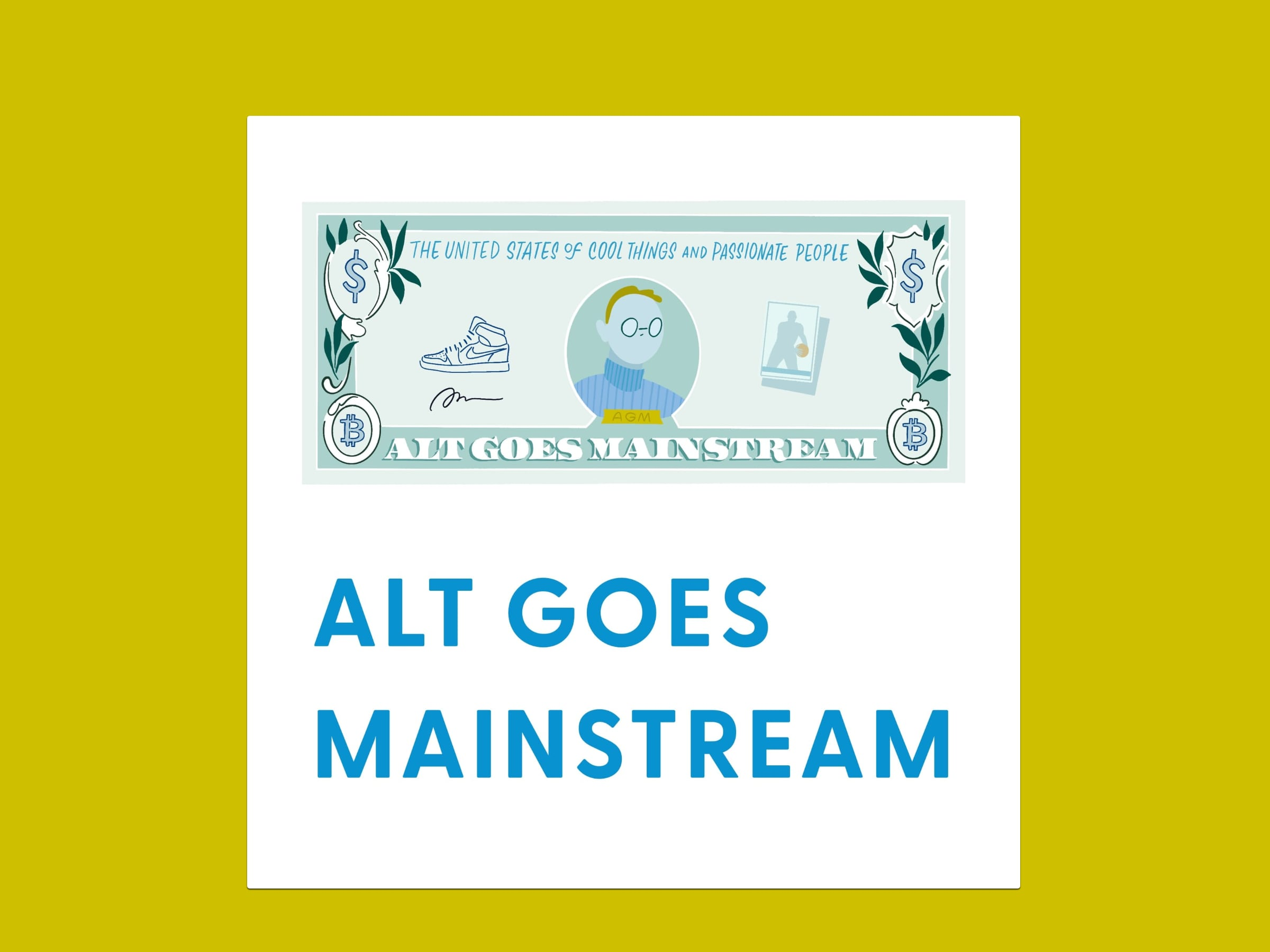 Alt Goes Mainstream podcast artwork