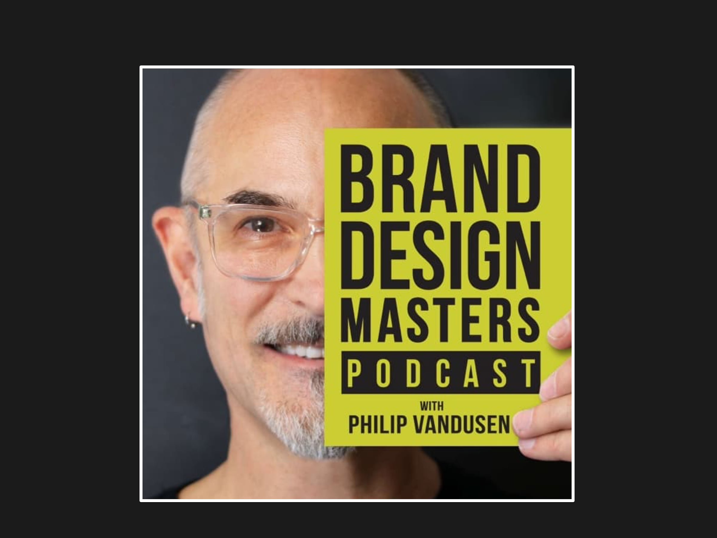 Brand Design Masters podcast artwork