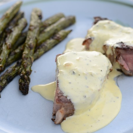 Steak with Béarnaise