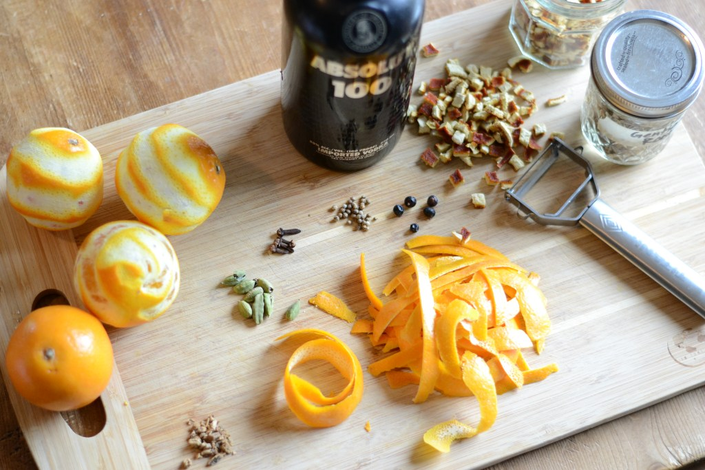 Homemade Orange Bitters