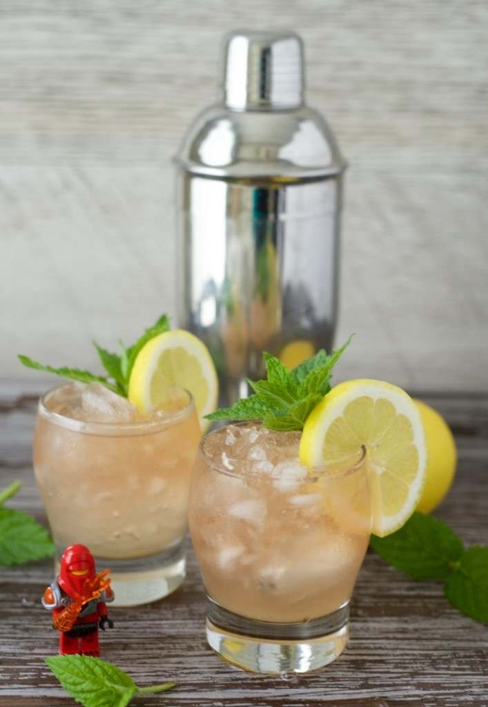 Bourbon Smash Mother's Day Cocktail