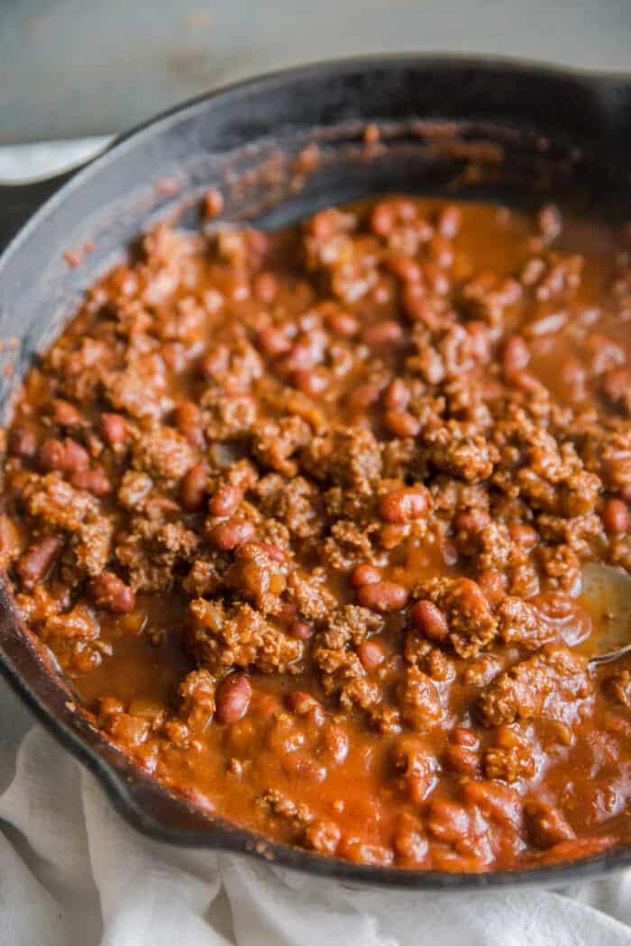 chili dog homemade chili