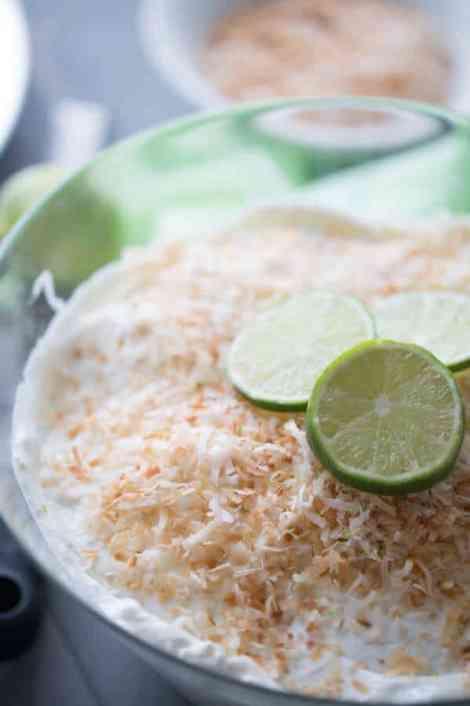 Coconut Key Lime Trifle {Lemons for Lulu}