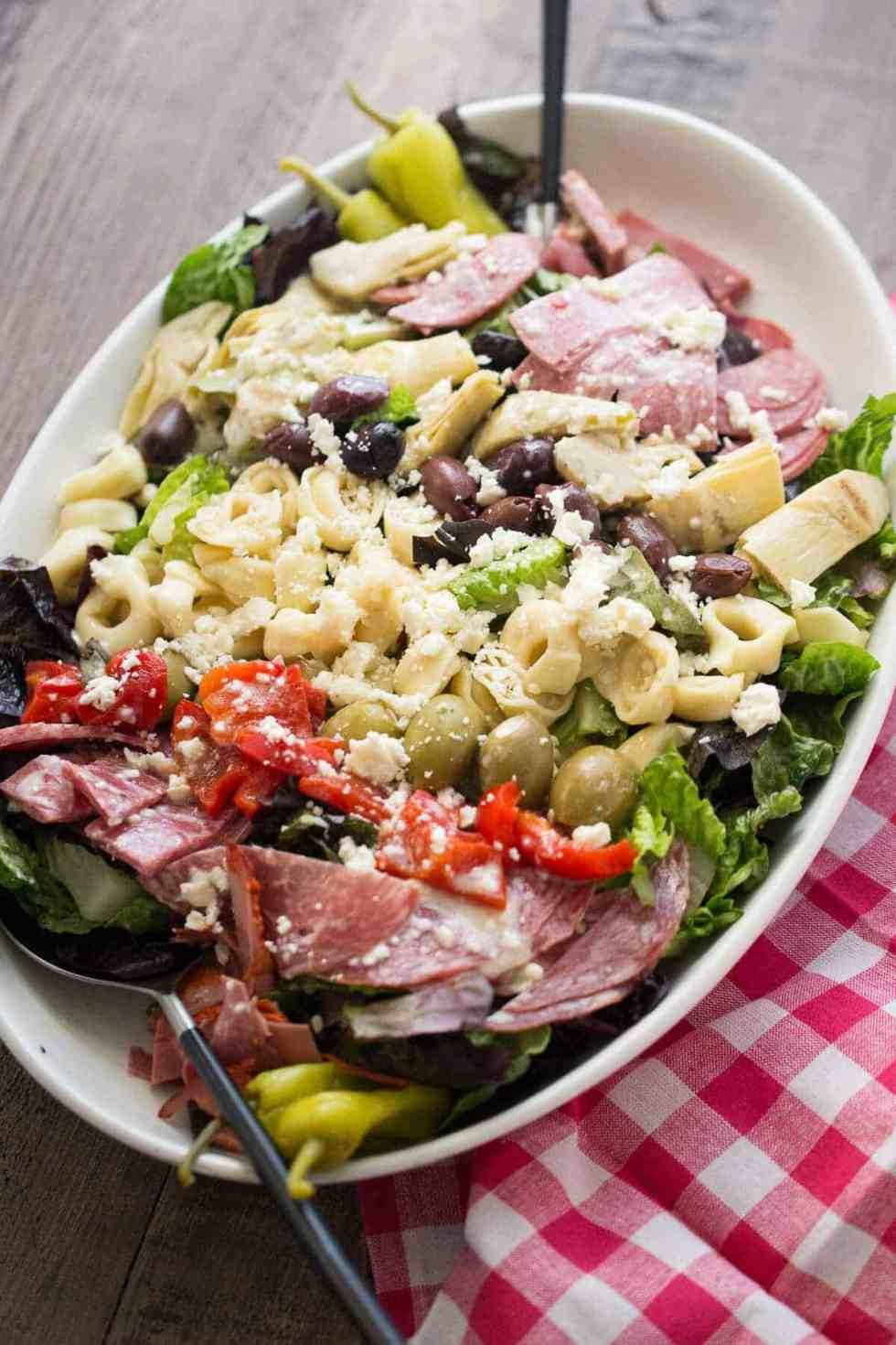 Italian Chopped Salad {Lemons for Lulu}