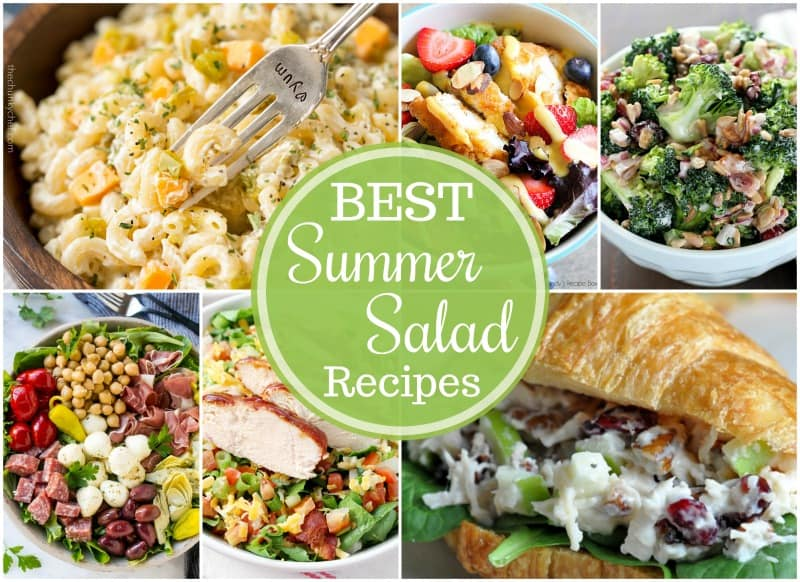 Summer salad recipes are perfect for potlucks and cookouts!
