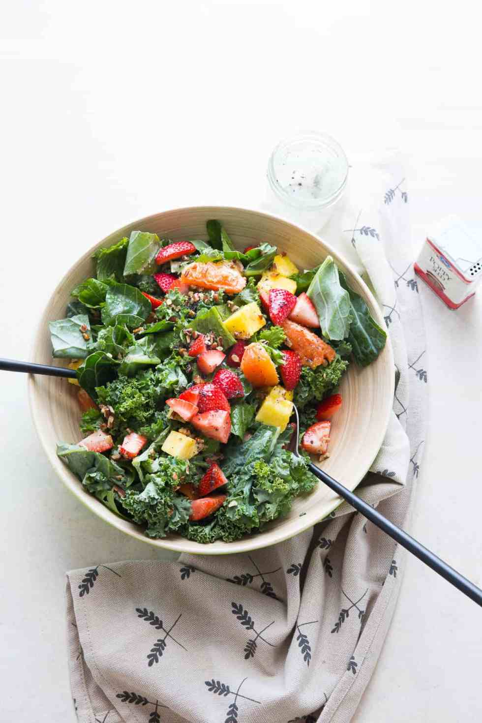 Mixed Greens Citrus Salad {Lemons for Lulu}