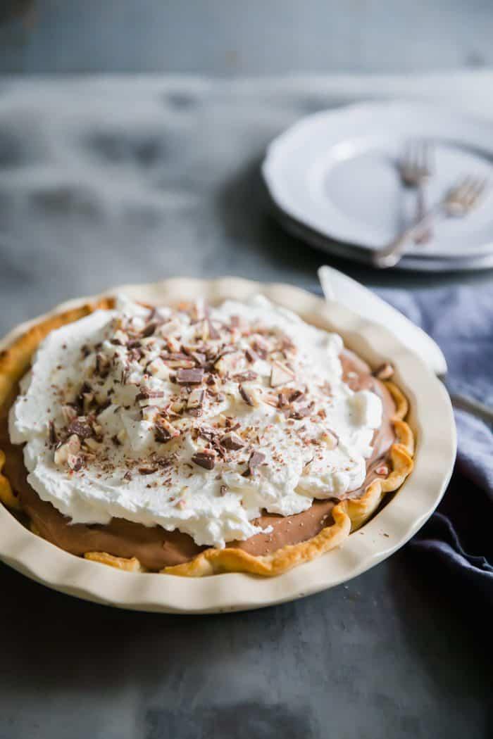 whole chocolate pie