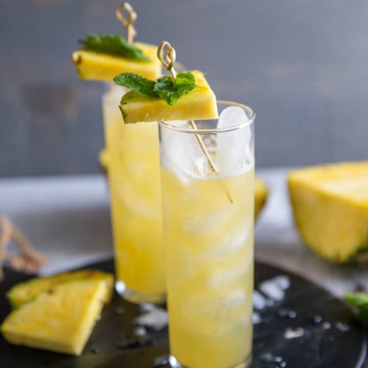 vodka cocktail tall glass