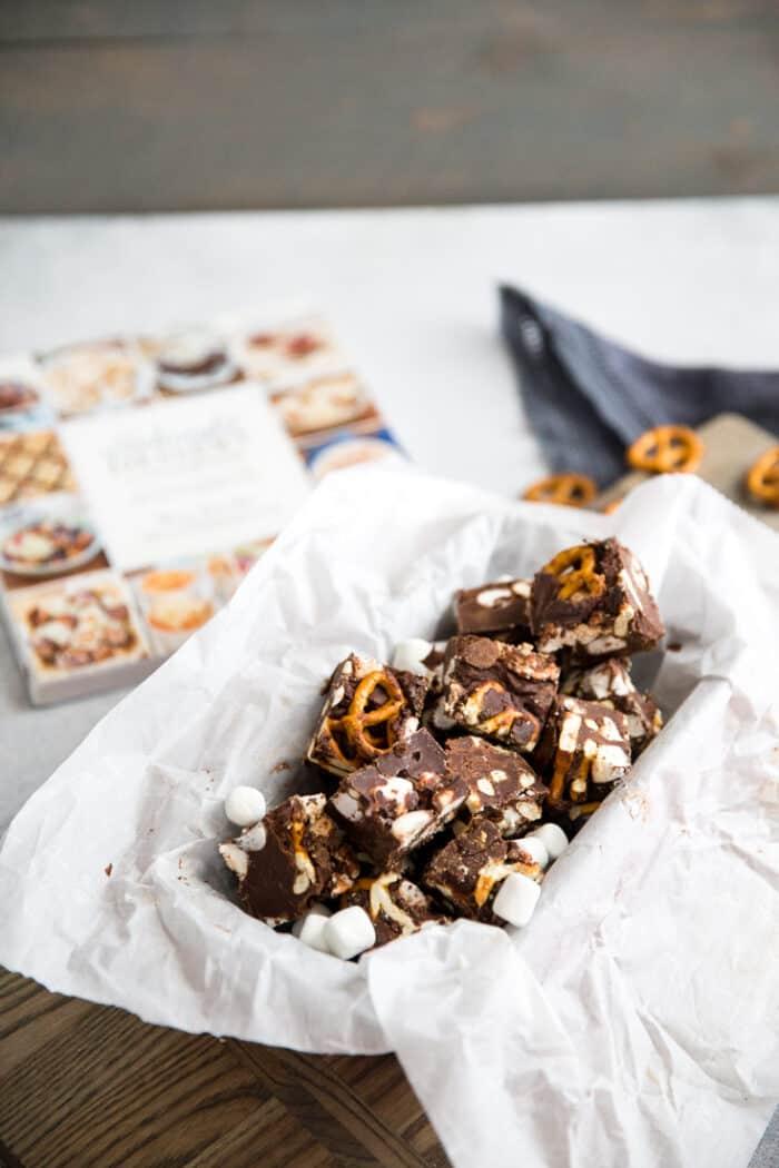 Avalanche chocolate fudge recioe
