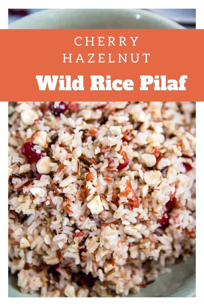 A close up of rice Pilaf