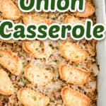 ground beef casserole title image