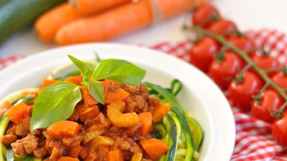 Vegane Spagetti Bolognese
