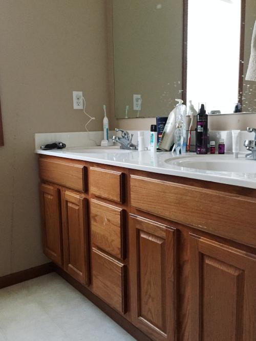 Master Bathroom Vanity Lemons Lavender Laundry