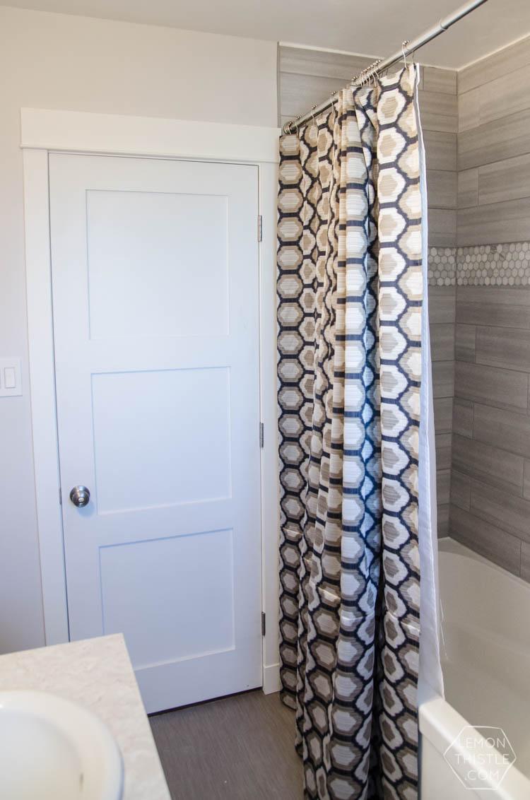 diy extra long custom design shower