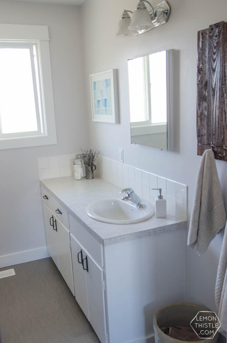 A Diy Bathroom Renovation Phase15 Lemon Thistle