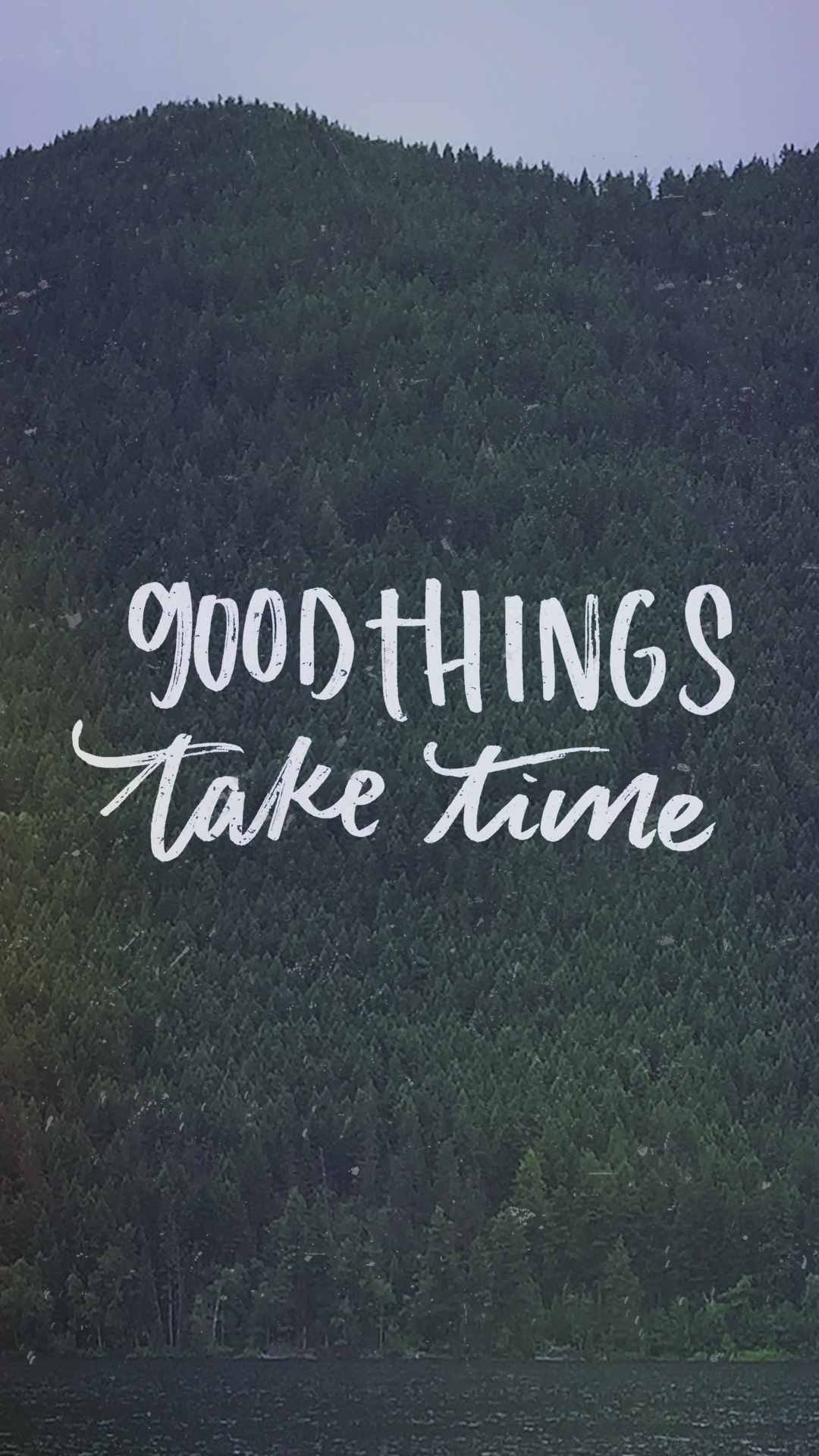 Wholesome Quote Wallpaper Good Things Take Time April Tech Wallpapers Lemon Thistle