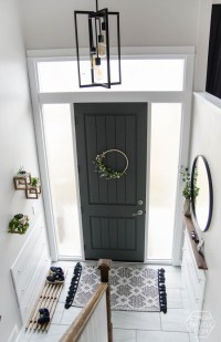 A DIY Split Level Entry Makeover: Before & After - Lemon ...