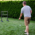 Diy Ladder Ball With Chalkboard Score Keeper Lemon Thistle