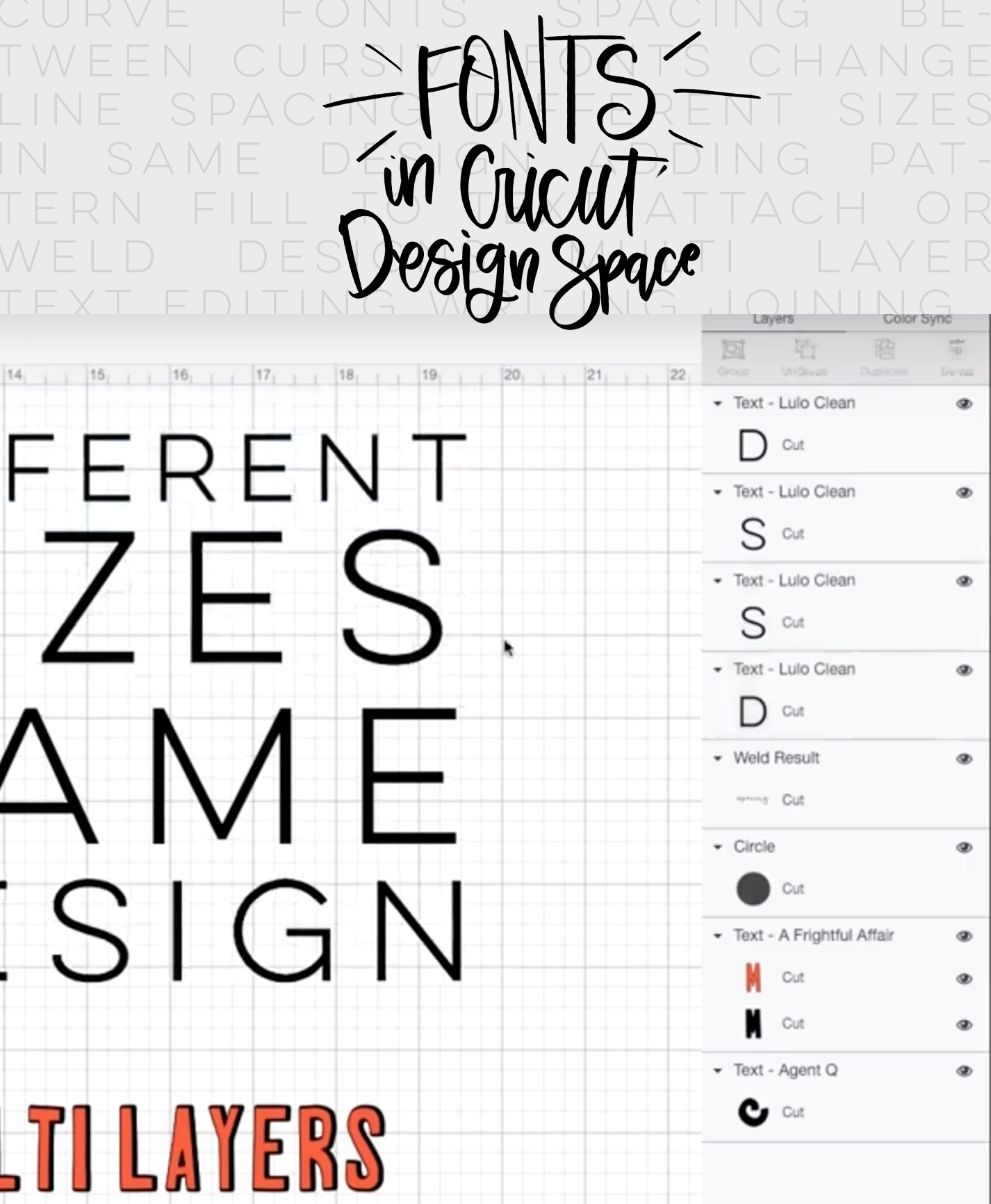 How To Use Text And Fonts In Cricut Design Space