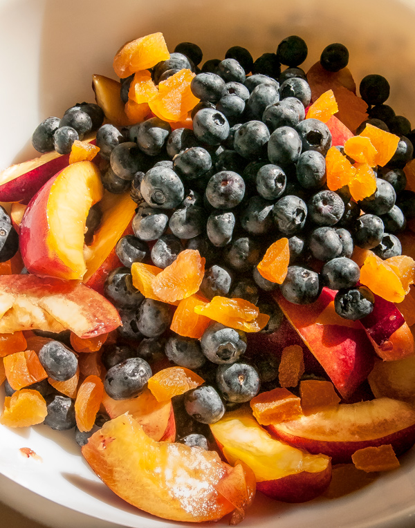 Nectarine and Blueberry Galette reicpe