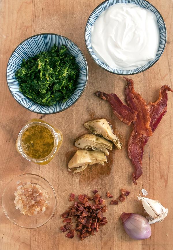 Spinach Artichoke Dip with Bacon Recipe