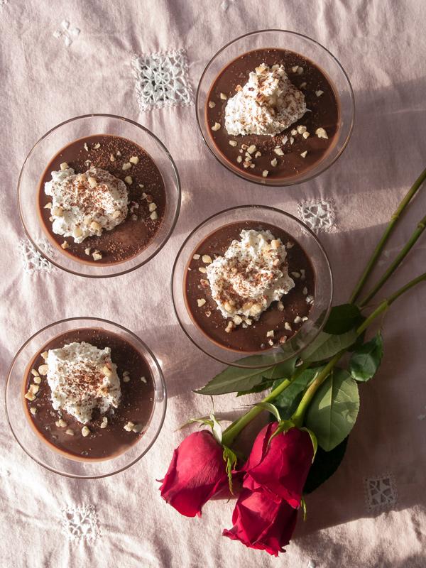 Chocolate Nutella Pots de Creme