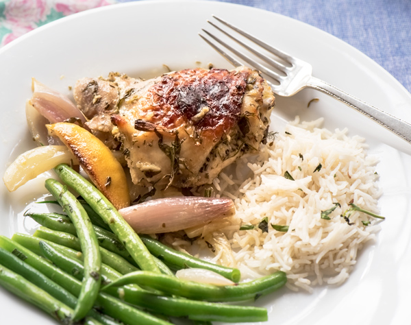 Oven Baked Chicken with Shallots and Chicken Recipe