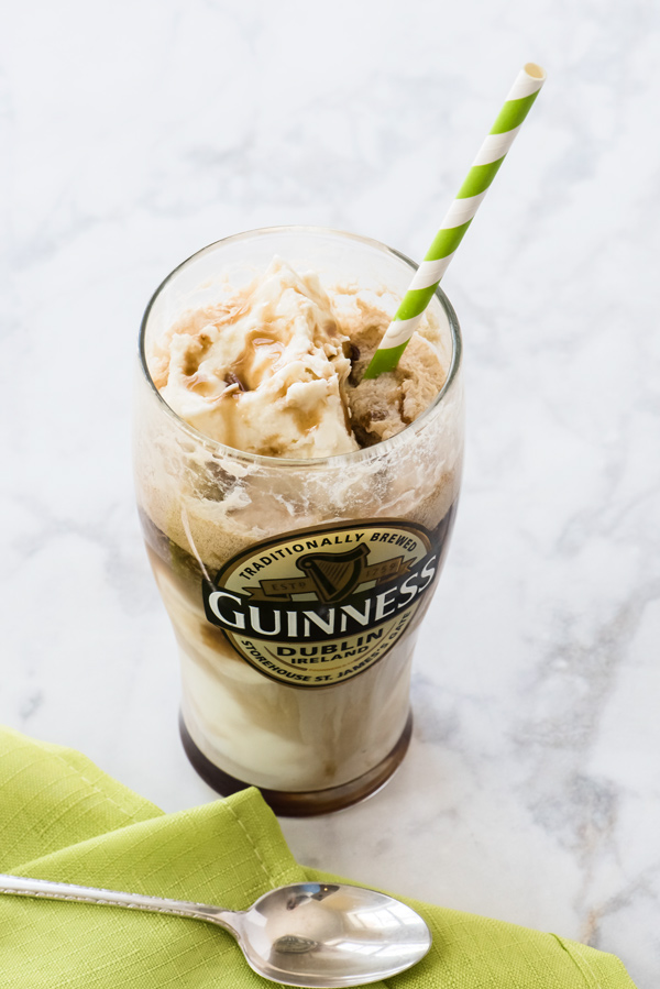 Refreshing Guinness Float