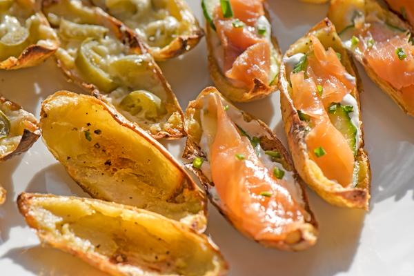 Taste of Ireland: Crispy Potato Skins 2 Ways recipe