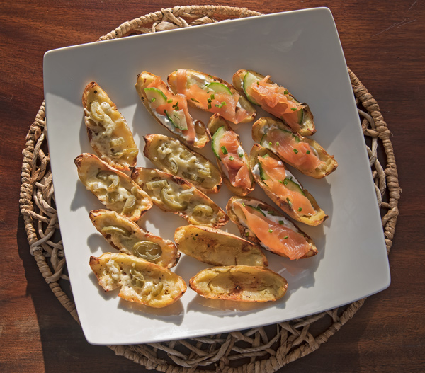 Taste of Ireland: Crispy Potato Skins 2 Ways recipe