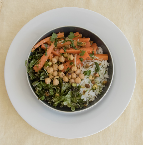 Sweet n' Spicy Herbed Carrots reicpe