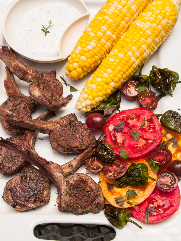 Lamb Chops, Early Fall Harvest Dinner For Two recipe