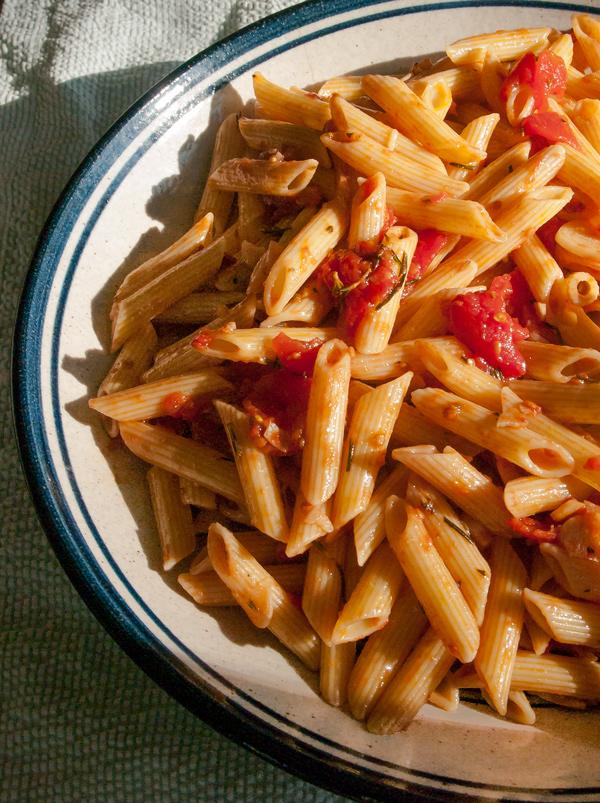 Tomato Sauce with Balsamic Vinegar and Rosemary Recipe