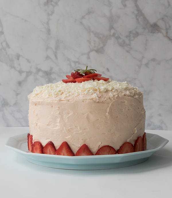 Celebrate with Pink Champagne Cake reicpe