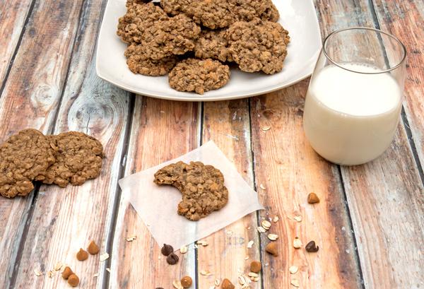 Kitchen Sink Oatmeal Cookies recipe
