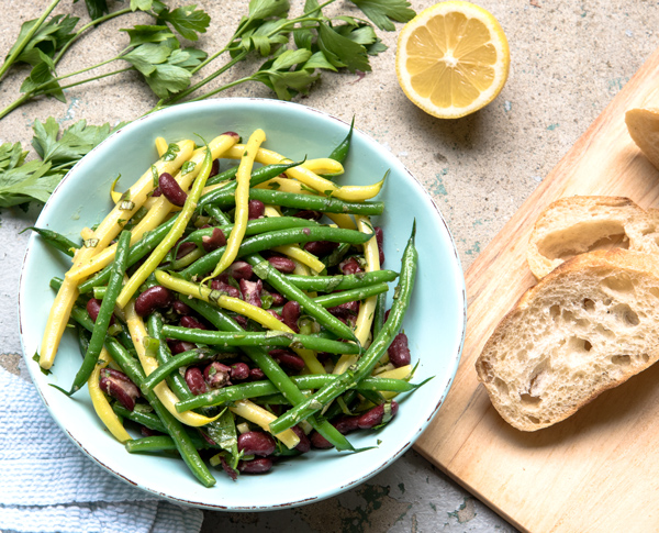 Green Bean Salad with Lemon Ginger Vinaigrette