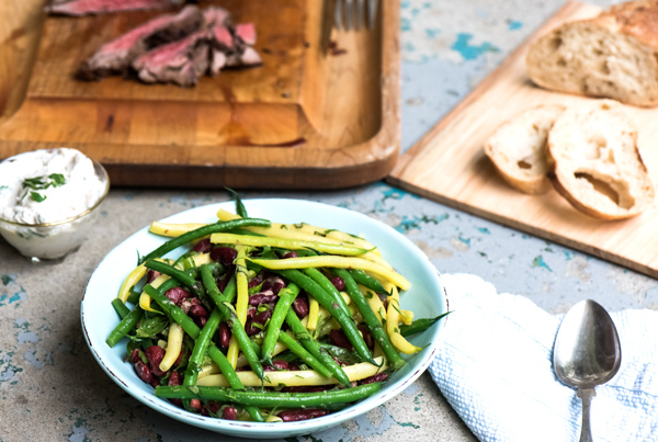Green Bean Salad with Lemon Ginger Vinaigrette recipe