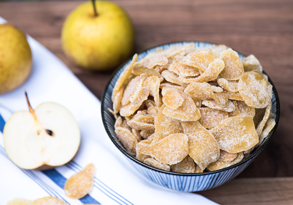 Crystallized Candied Ginger reicpe