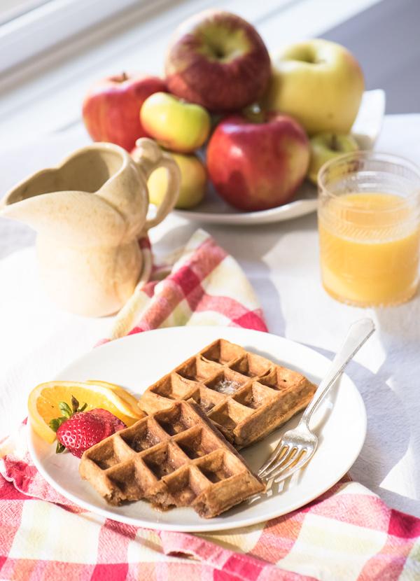 Orange Spice Waffles Recipe