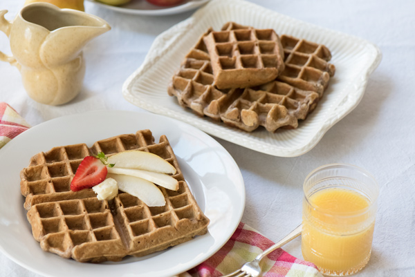 Orange Spice Waffles recipe