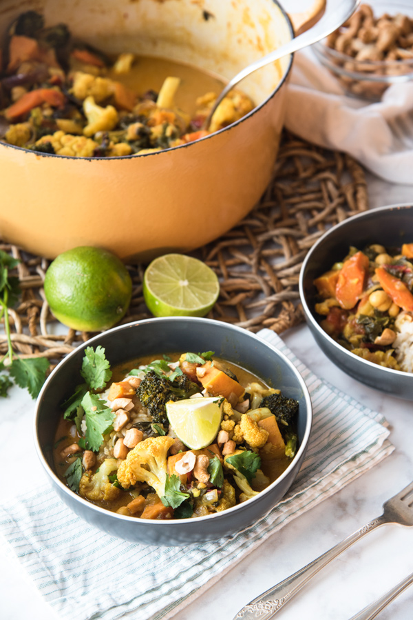 South Indian Style Vegetable Curry Recipe.