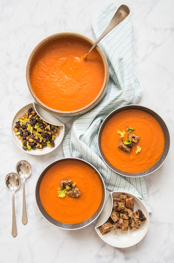 Puree of Vegetable Soup, recipe.
