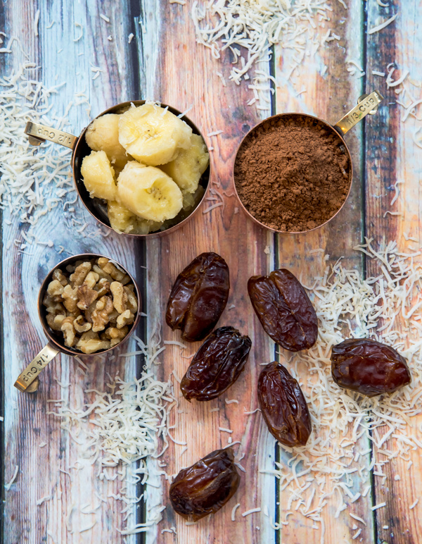Cocoa Banana Nut Snack Bar, recipe.