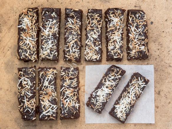 Cocoa Banana Nut Snack Bar, recipe.